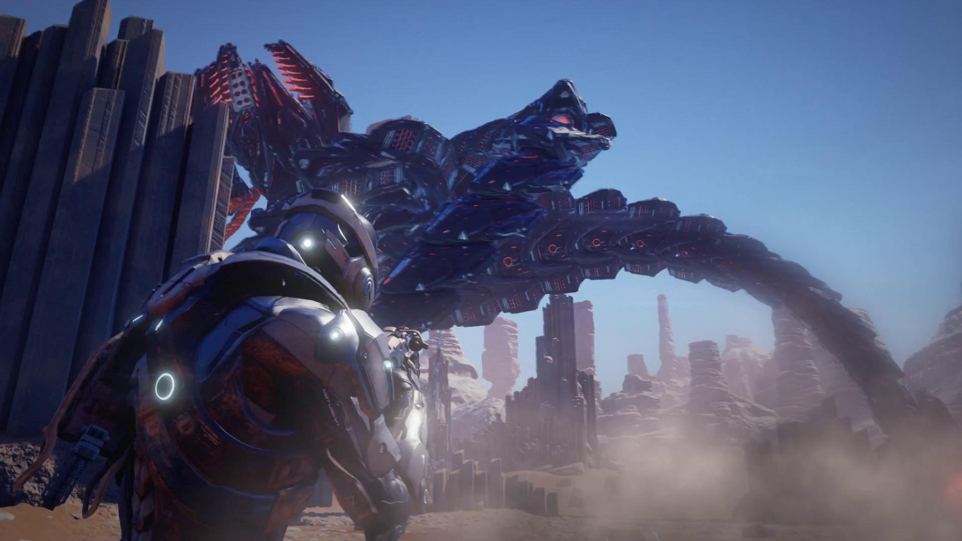 Finally, our first look at Mass Effect: Andromeda gameplay